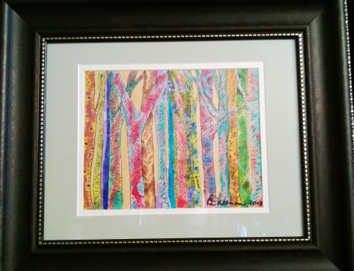 My painting will be on display April 18, 2013 during Charleston's ArtWalk from 5-8 PM at Romano & Associates, 230 Capitol Street, Suite 200, Charleston, WV.