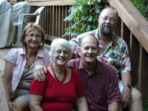 Our new friends from New Zealand: Glenys and Brian Currie