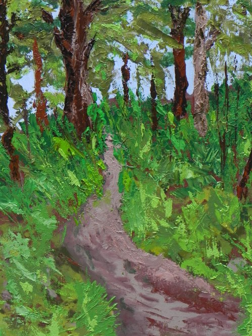 Oil painting - Path