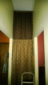 Double-decker curtains